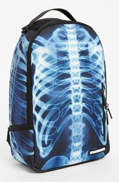 No bones about it, this x-ray backpack will keep belongings organized.
