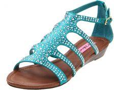 betsey johnson sandal, gladiator, gladiator sandal, jeweled sandal, summer sandal, spring sandal
