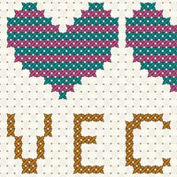How to Create a Vector Cross Stitch Effect in Adobe Illustrator (via vector.tutsplus.com)