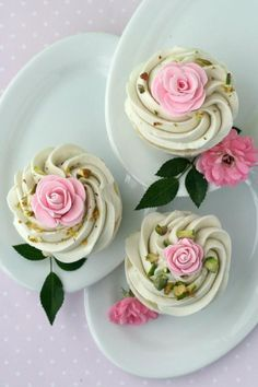 #Cupcakes roses for #Tea #Coffee Time