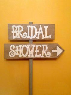 Rustic Bridal Shower Sign by PalletsandPaint on Etsy, $30.00