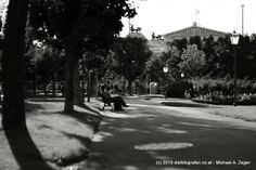 August - Im Volksgarten Blick auf das Parlament Vienna, Sidewalk, Street View, Walking, Outdoor, Photos, Simple, Jogging, Outdoors