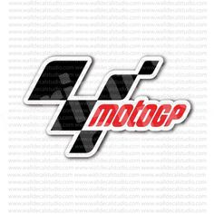 MotoGP Grand Prix Motorcycle Racing Emblem Sticker for - Stickers Motorcycle Motorcycle Stickers, How To Remove, How To Apply, Valentino Rossi, Art Logo, Motogp, Grand Prix, Badges, Motorcycles
