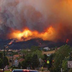 Waldo Canyon Fire,2012