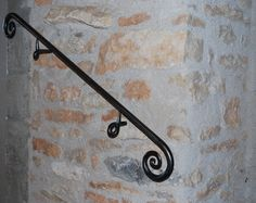 Wrought Iron Interior Handrails, Stair Rails, Balustrades. Main ...