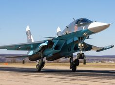 Russia just received a new batch of Su-34 fighter jets here's what they can do