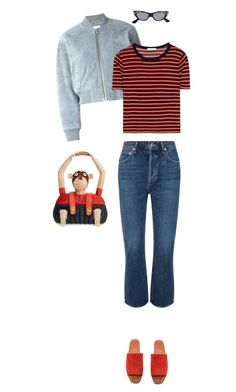 """Untitled #842"" by morelicious ❤ liked on Polyvore featuring See by Chloé, T By Alexander Wang, Tory Burch, AGOLDE and Gucci"