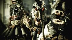 PEOPLE AS BELLS - KUKERI / traditional Bulgarian ritual by Ivo Christov, via Behance