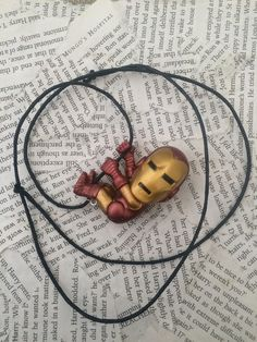 Shop for necklace on Etsy, the place to express your creativity through the buying and selling of handmade and vintage goods. Men Necklace, Iron Man, Geek Stuff, Creative, Handmade, Etsy, Geek Things, Mens Chain Necklace, Iron Men