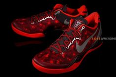 "Nike Kobe 8 System Red Camo ""Year of The Snake"" Release Date"