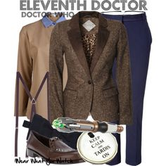 """Eleventh Doctor (Doctor Who)"" by wearwhatyouwatch on Polyvore"