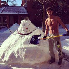 How Canadians build a snow man/Nick Bateman :*