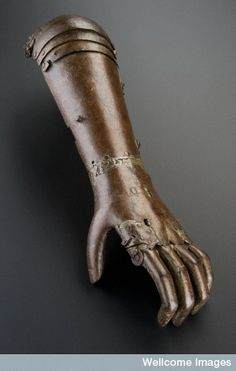 Iron artificial arm, Europe, 1560-1600