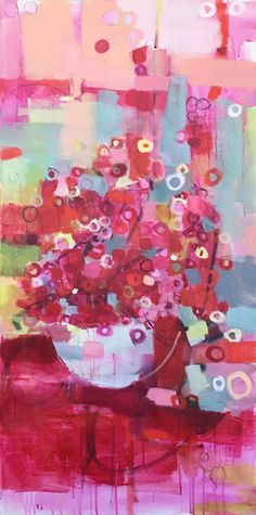still life::laurie breen--contemporary mixed media still-life and abstract paintings & art for children's spaces