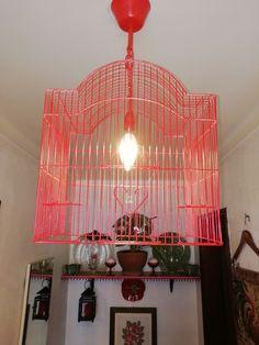 Chandelier, Ceiling Lights, Lighting, Home Decor, Bird Cage, Light Fixture, Stuff Stuff, Candelabra, Decoration Home