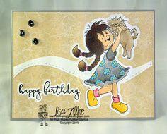 High Hopes Stamps: Besties by Lisa using  Besties (TT028), Besties SVG file-point 7 (TT028SVG), Fancy Script Happy Birthday (HH019), and Fancy Script Happy Birthday SVG file-point 7 (HH019SVG)
