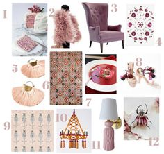 Blog — Holly Hickey Moore  Favorite Fall Finds  1.  Almond Crepe Cake with Raspberry-Rose Cream by Milly's Kitchen 2. Fur coat via Srta-Pepis 3. Bird Wing Chair design by Hable for Hickory Chair 4. Pressed flowers by Cocorrina 5. tassel fan earrings by Yo! 6. Rug in Purple Rust by Safavieh 7. Beet Potato Soup by Once Upon a Cutting Board 8. Ulla Johnson shoes with tassel ties 9. Trois Blooms wallpaper by Wayne Pate + Studio Four NYC 10. Passementerie Opera Chandelier by Helene Aumont 11. The…