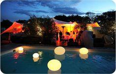 organic concept location chapiteau tente stretch de reception mobilier lumineux midi-pyrénée
