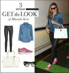 Get the look: Το casual chic look της Miranda Kerr