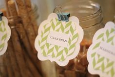 Cute alternative to place card style labels