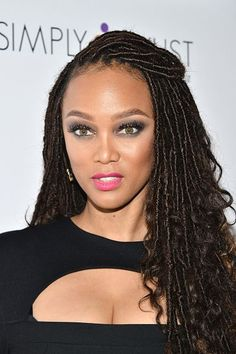 Tyra Banks' goddess locs