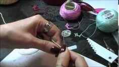 free needle tatting patterns - YouTube