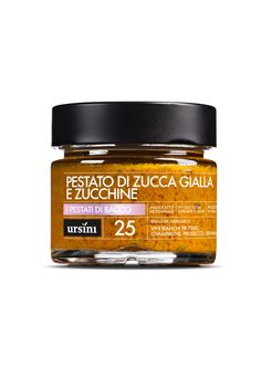Yellow Pumpkin and Zucchini Pesto #Ursini, #food, #ricette, #Pestato
