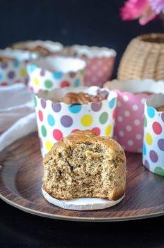 Buckwheat flour Banana Muffins - Vegan, Gluten-fre