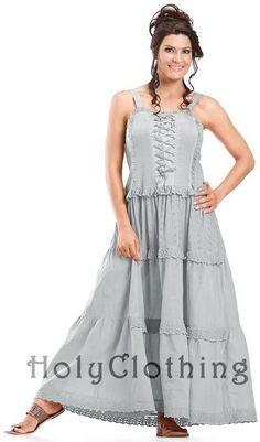 Shop Ashlee Dress: http://holyclothing.com/index.php/ashlee-bohemain-ruffles-peasant-gypsy-cotton-corset-sun-dress.html?utm_source=Pin  #holyclothing #bohemian #corset #romantic #cotton #dress #love #fashion #musthave