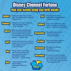 Disney Channel<<<<< I LOVE THESE!!! but i miss the old disney shows
