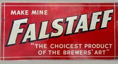 Fallstaff beer sign