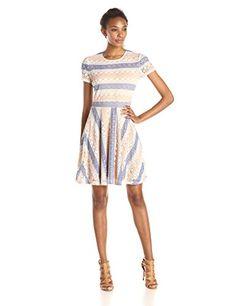 BCBGMAXAZRIA Women's Renley Short Sleeve Chevron A-Line Dress, http://www.amazon.com/dp/B00VHRMHG0/ref=cm_sw_r_pi_dp_3TF1vb1DAY7KR