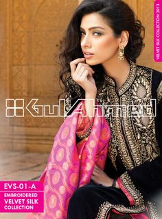 EVS-01-A..GULAHMED EMBROIDERED SILK VELVET COATS REDEFINING GLAMOUR BY SETTING NEW STANDARDS!