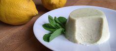 'Panna cotta' de limón