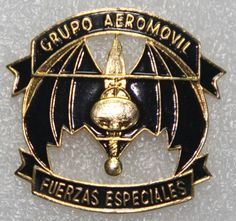 Special Forces Airmobile Group beret badge  Mexican Army