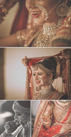 Indian Bride Preparation | Beautiful Pictures | Stunning & Unforgettable Moments