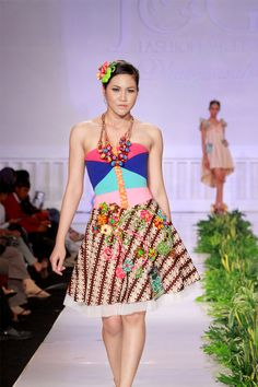 EMOSI LOGIKA / model by Inggit / photographer by Dion / outfit batik from Crazy No Play by Fei / 1st winner on Jogja fashion week 2012 (coctail dress design competition)