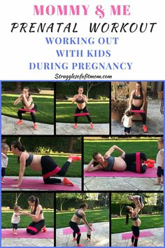 Week Fit Pregnancy Update Prenatal workout with baby. Stay fit during pregnancy while keeping your toddler entertained Prenatal Workout, Prenatal Yoga, Pregnancy Workout, First Trimester Workout, Pregnancy Fitness, Week Workout, Mommy Workout, Pregnancy Health, Pregnancy Tips