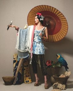 """Ethnic Essential"" by Lee Gun Ho for Vogue Korea"