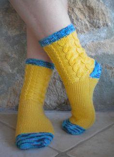 meias com tranças