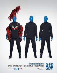 Close your eyes drive to the #WinspearOperaHouse for #BlueManGroup #askaticket