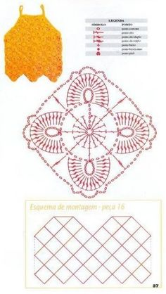 pattern with chart unit crochet pattern patron for women