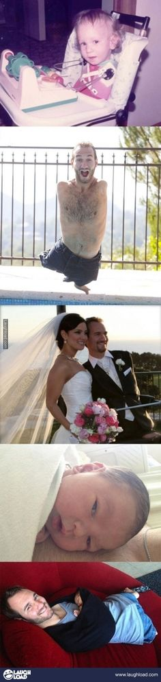 Nick Vujicic Look Destiny, he's finally married! Praise God! I shouldn't say finally. It happened eexactly when it was supposed to.