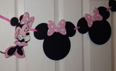 Minnie Mouse First Year Birthday Banner Party by craftedbysuzy, $28.00