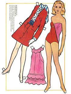 Faye Dunaway paper doll.