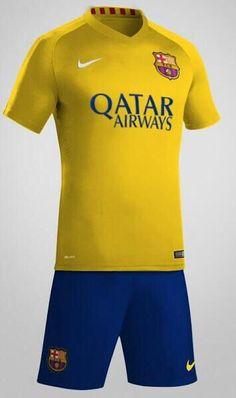 Possible Barça away kit for next season #fcblive