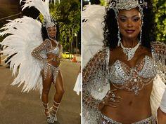 Cris Vianna grava com a fantasia da rainha de bateria Juliane (Foto: Felipe Monteiro/Gshow) Cris Vianna é a primeira musa do carnaval carioca a reinar na Marquês de Sapucaí em 2015. Mas a atriz não foi ao sambódromo carioca representar ...