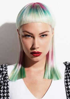 The Couture Punk collection by Jo Bellamy Salon.