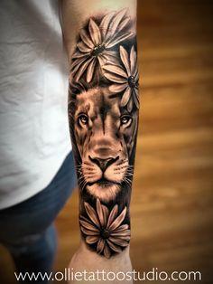 tattoos for women half sleeve Henna Tattoos, Wolf Tattoos, Cute Tattoos, Unique Tattoos, Black Tattoos, Body Art Tattoos, Tattoos For Guys, Tatoos, Half Sleeve Tattoos Animal