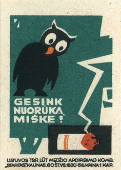 lithuanian matchbox label | Flickr - Photo Sharing!